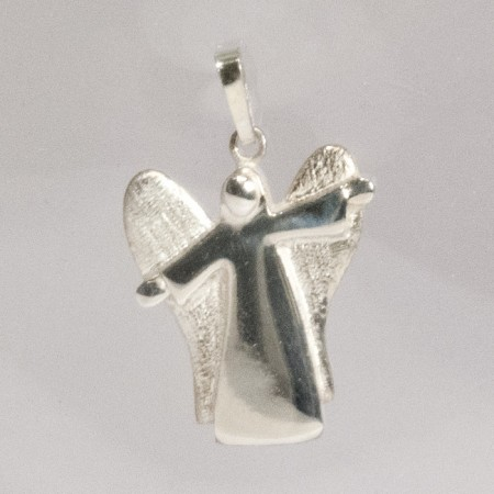 Schutzengel Anhänger Silber